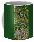 Horse Rises From The Earth Coffee Mug