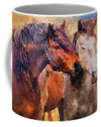 Horse Snuggle Coffee Mug