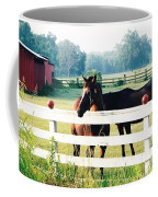 Horse Stable Coffee Mug