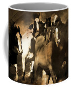 Horse Stampede Art 08a Coffee Mug