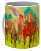 Horse Tracking Coffee Mug