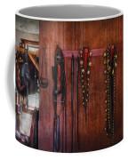 Horse Trainer - Jingle Bells Coffee Mug by Mike Savad