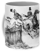 Horseback Riders, C1840 Coffee Mug