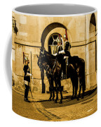 Horseguards Inspection. Coffee Mug