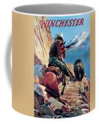 Horseman And Bear Coffee Mug
