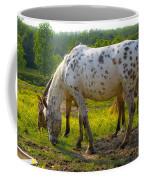 Horses And Buttercups Coffee Mug
