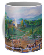 Horses At Gettysburg Coffee Mug