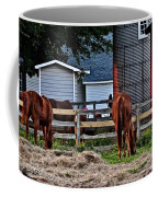 Horses Grazing Coffee Mug