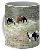 Horses In The Highlands Coffee Mug