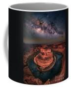 Horseshoe Bend With Milkyway Coffee Mug