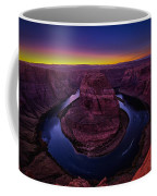 Horseshoe Sunset Coffee Mug