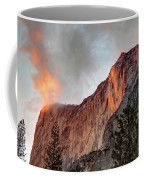Horsetail Falls Cloudy Sunset Coffee Mug