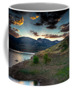 Horsetooth Reservior At Sunset Coffee Mug