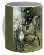 Horsewoman In The Bois De Boulogne Coffee Mug