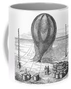 Hot Air Balloon Inflation Coffee Mug by Granger