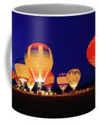 Hot Air Balloon Night Glow Coffee Mug