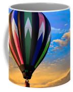 Hot Air Balloons At Sunset Coffee Mug