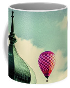 Hot Air Balloons Float Over Lewiston Maine Coffee Mug