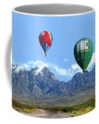 Hot Air Over The Organ Mountains Coffee Mug
