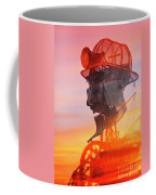 Hot And Steamy Man Engine Coffee Mug