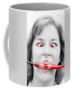 Hot Chilli Woman Coffee Mug by Jorgo Photography - Wall Art Gallery