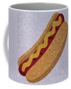 Hot Dog Emoji Coffee Mug