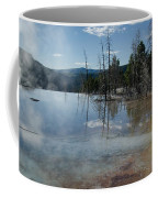 Hot Mammoth Springs Reflection Coffee Mug