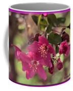 Hot Pink Blossoms Coffee Mug