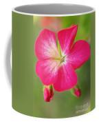 Hot Pink Geranium On A Brilliant Summer Day Coffee Mug