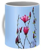 Hot Pink Magnolias Coffee Mug