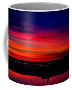 Hot Pink Sunset Coffee Mug