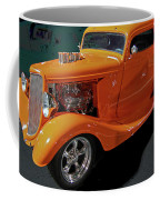 Hot Rod Orange Coffee Mug
