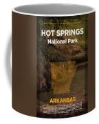 Hot Springs National Park In Arkansas Travel Poster Series Of National Parks Number 31 Coffee Mug