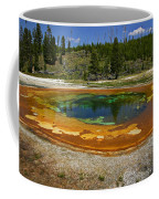 Hot Springs Yellowstone National Park Coffee Mug