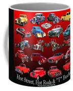 Car Show And Shine Poster Coffee Mug