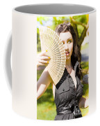 Hot Woman Coffee Mug by Jorgo Photography - Wall Art Gallery