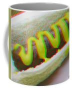 Hotdog - Use Red-cyan 3d Glasses Coffee Mug