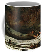Hound And Hunter Coffee Mug by Winslow Homer