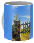 House Behind The Fence Coffee Mug