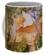 House Beside Mountain Coffee Mug