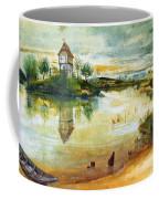 House By A Pond Coffee Mug