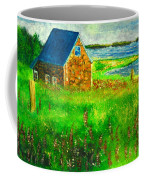 House By The Field Coffee Mug