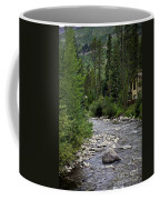 House By The Stream In Vail 1 Coffee Mug