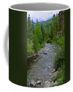 House By The Stream In Vail 2 Coffee Mug