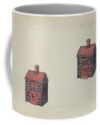 House Coin Bank Coffee Mug