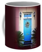 House Door 6 In Charleston Sc  Coffee Mug by Susanne Van Hulst