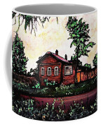 House In Sergiyev Posad   Coffee Mug