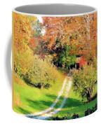 House In The Hills Coffee Mug