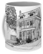 House Portrait In Ink 1 Coffee Mug by Hanne Lore Koehler