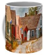 Houses - Maritime Village  Coffee Mug